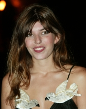 Lou Doillon at Marrakesh International Film Festival 2002