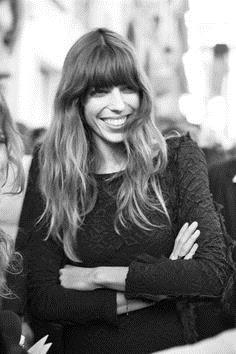 French actress Lou Doillon captures the essence of alluringly imperfect beauty
